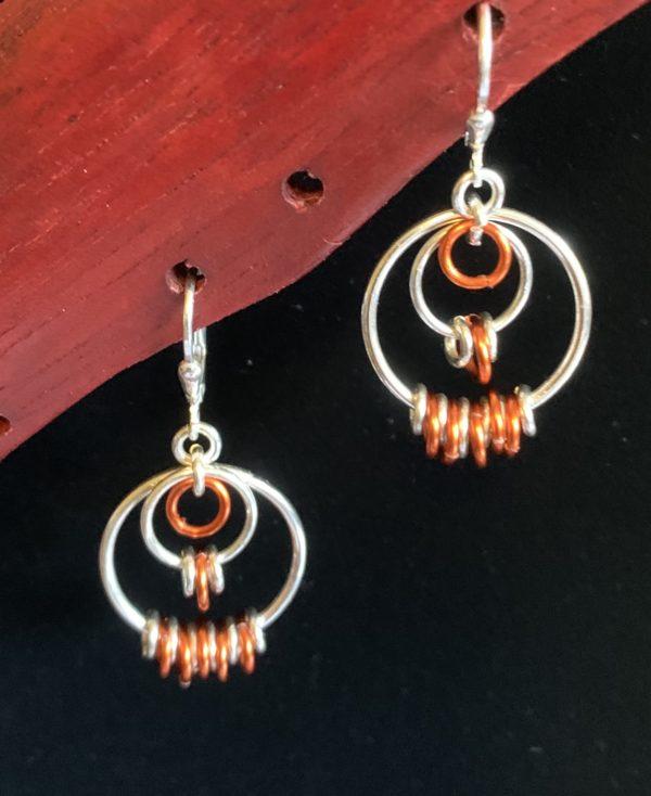 Sweer Orange Earrings