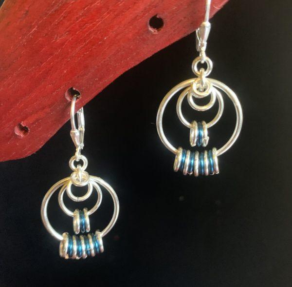 Sapphire Blue Earrings