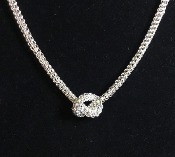 Silver Foxtail Necklace