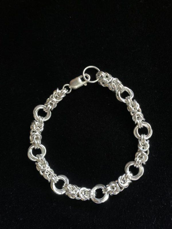 Double Link Byzantine Bracelet
